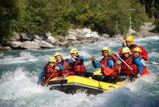 Combiné Rafting + hot dog ou hydrospeed