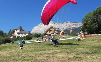 4. Biplace parapente : Vol duo contact
