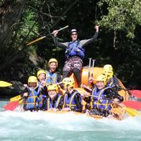 teambuilding rafting séminaire incentive la plagne