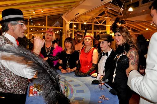 soirée animation casino factice